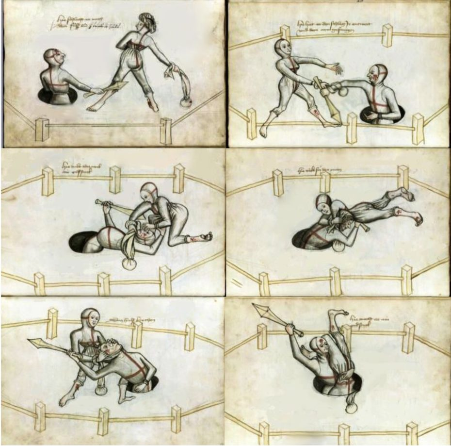 How Married Couples in Medieval Germany were legally allowed to fight